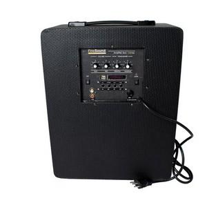 Amplificador de som ambiente para escolas